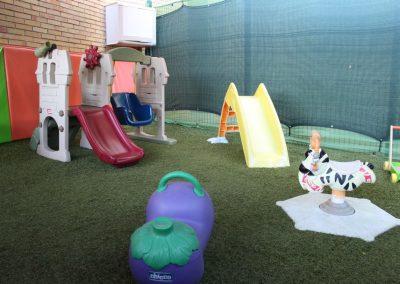 Espacio de juego del alumnado 0-2 años